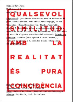 Sala d'Art Jove_Qualsevol similitud amb la realitat és pura coincidència_2011